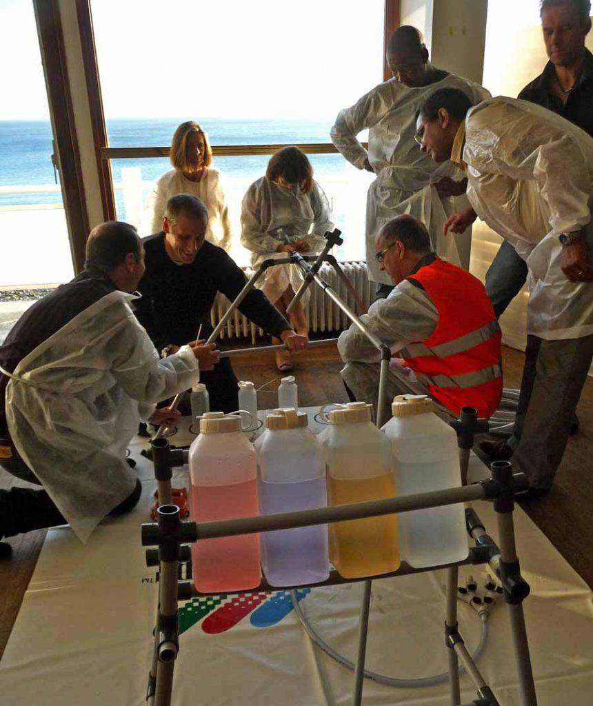 Team learning activité Tuyaux