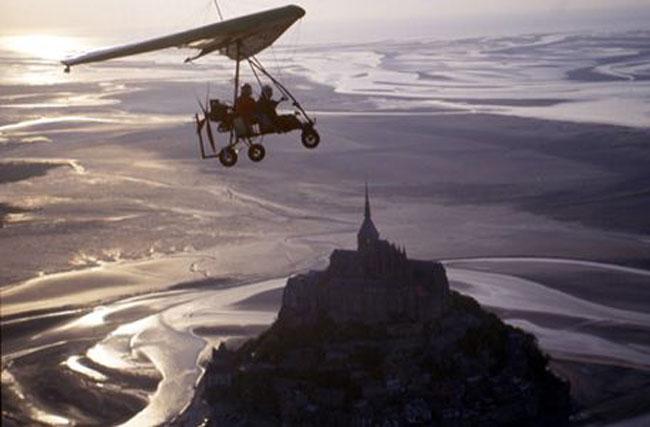 Activité séminaire -ULM au Mont Saint-Michel