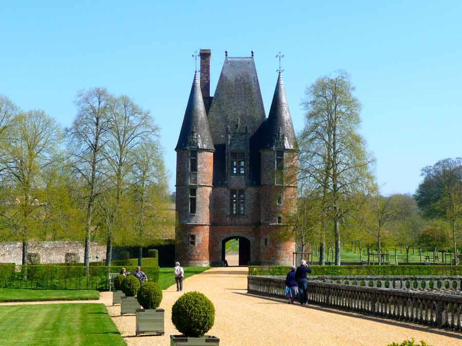 Visite de château en Normandie