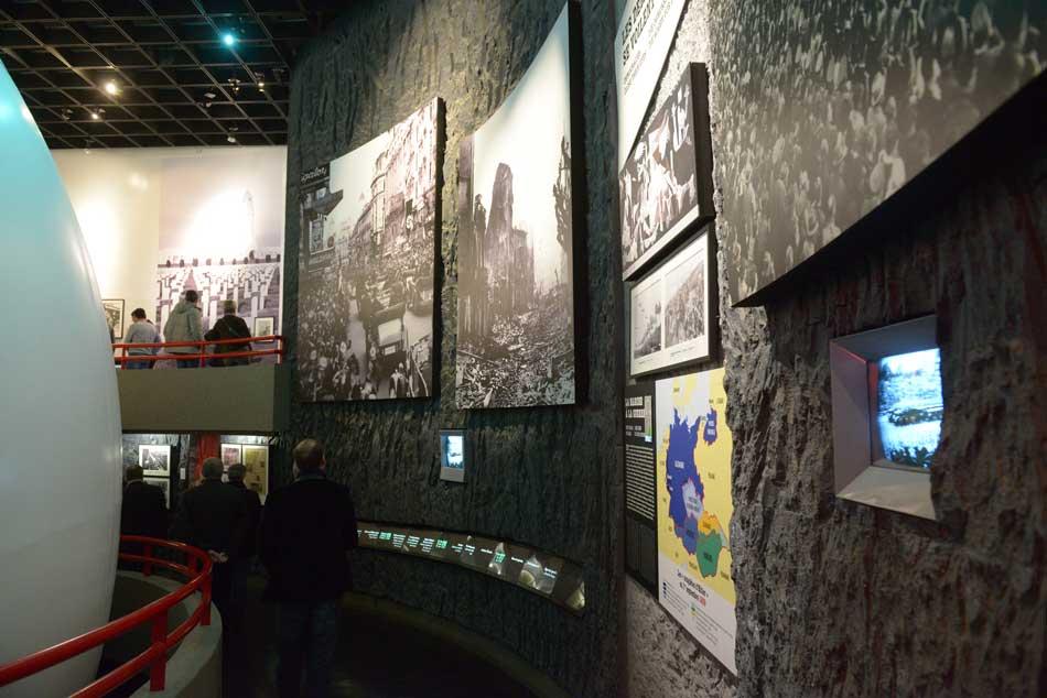 Visite du Mémorial musée de Caen pour votre incentive en Normandie