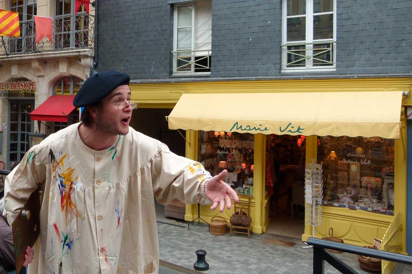 Visite spectacle de Honfleur