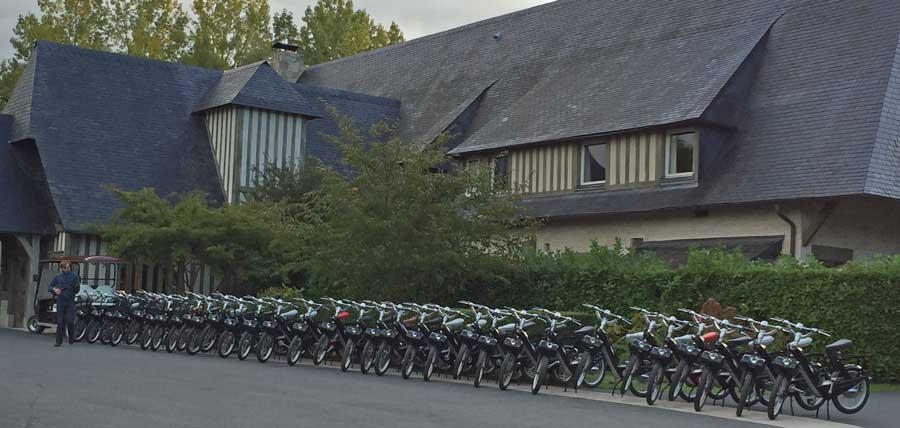 Activité e-solex à Deauville | © RECEVOIR en NORMANDIE