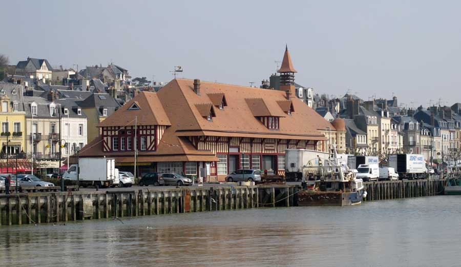 Port de pêche de Trouville, découverte de la Normandie