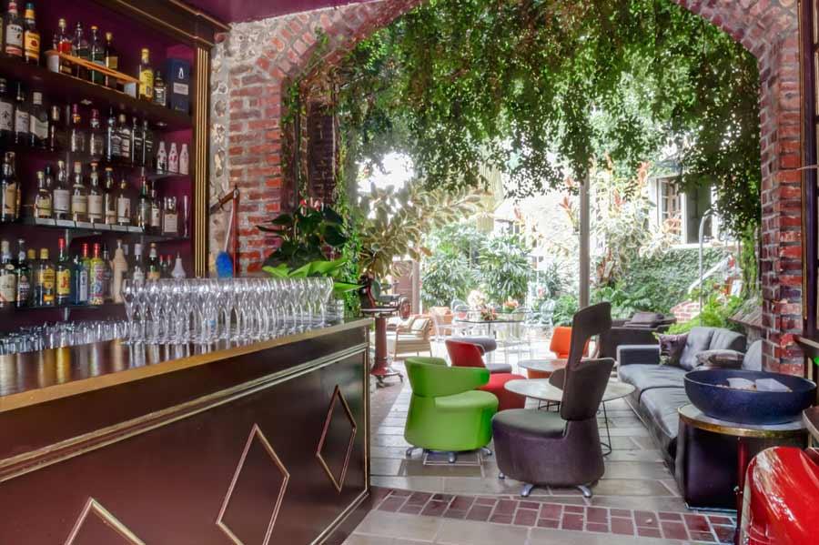 Hôtel Le Domaine Saint Clair à Étretat - le bar