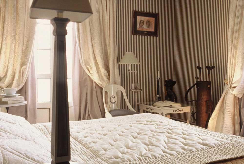 Chambre Confort de l'hôtel Le Domaine Saint Clair à Étretat