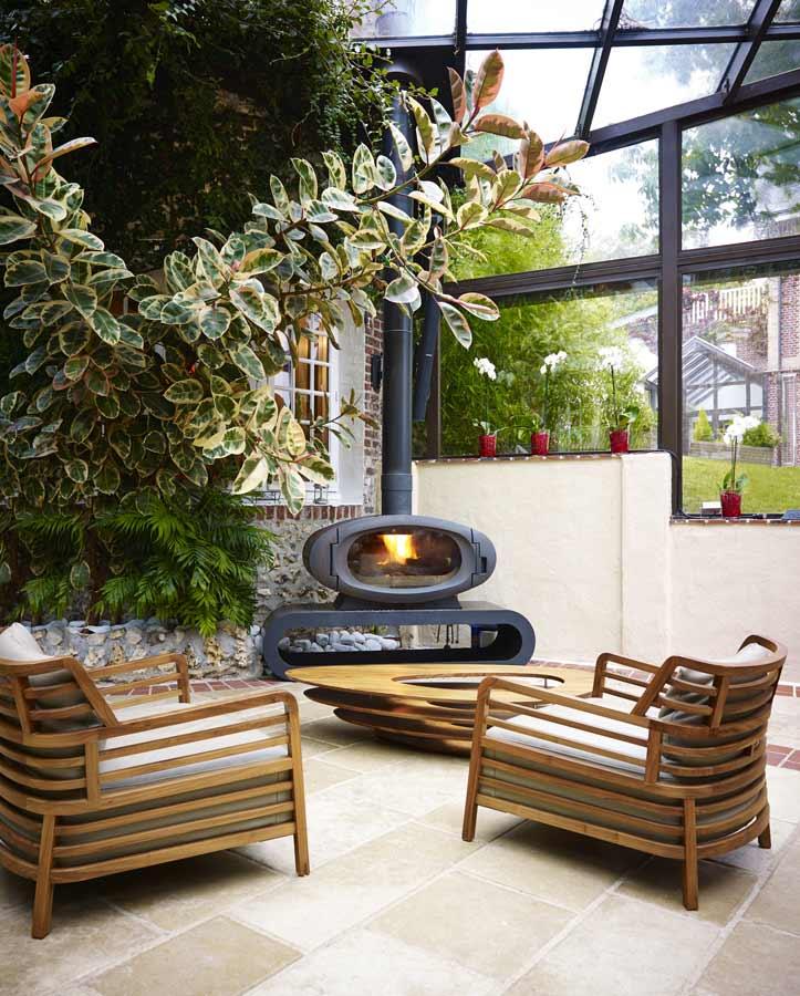 Hôtel à Étretat Le Domaine Saint Clair - le patio