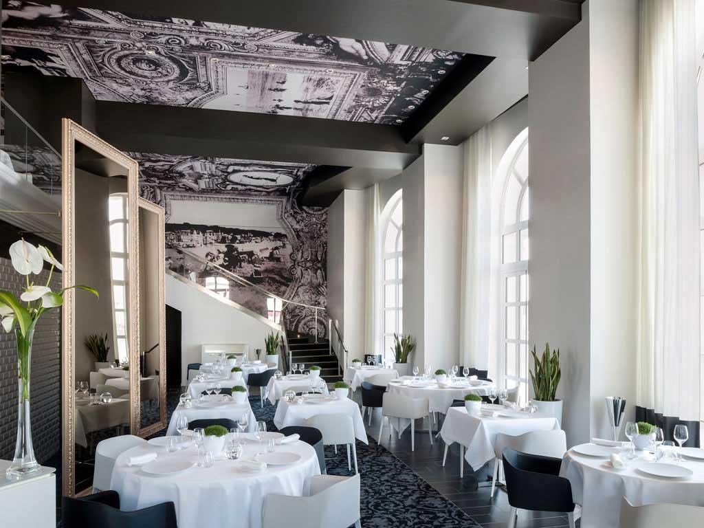 Restaurant de l'Hôtel Cures Marines à Trouville