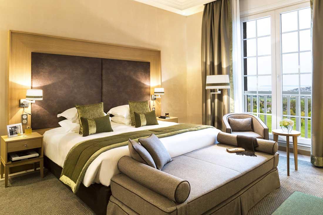 Chambre Deluxe Mer Club de l'Hôtel du Golf Barrière de Deauville