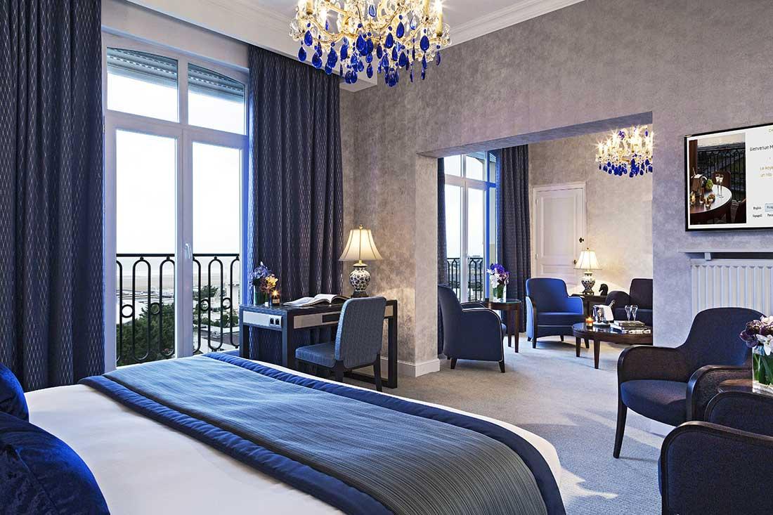 Chambre Deluxe - Hôtel Le Royal Deauville
