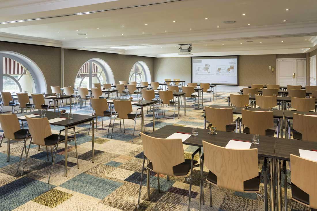 Salle de conférence au Royal Deauville