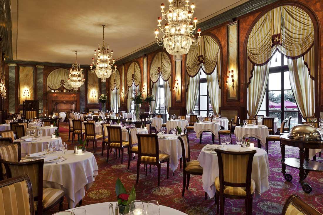 Hôtel Le Royal Deauville - restaurant Le Côté Royal