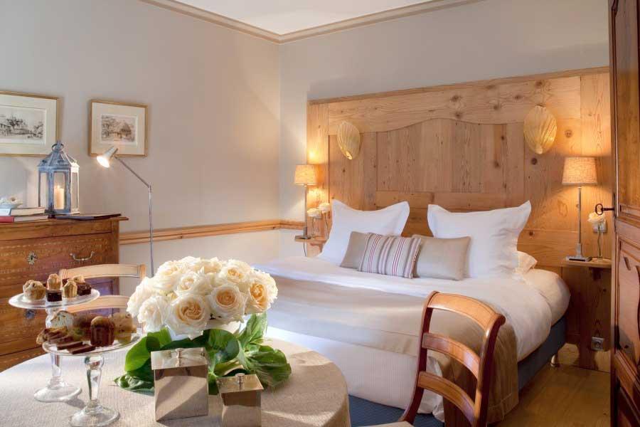Chambre à La Ferme Saint-Siméon hôtel pour CoDir à Honfleur