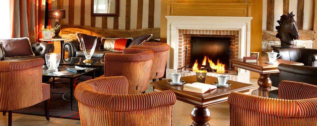 Bar Lounge de l'Hôtel**** Les Manoirs de Tourgéville