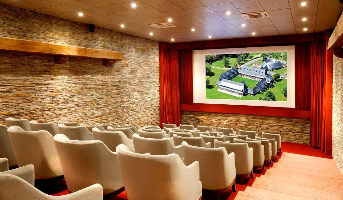 La salle de cinéma des Manoirs de Tourgéville