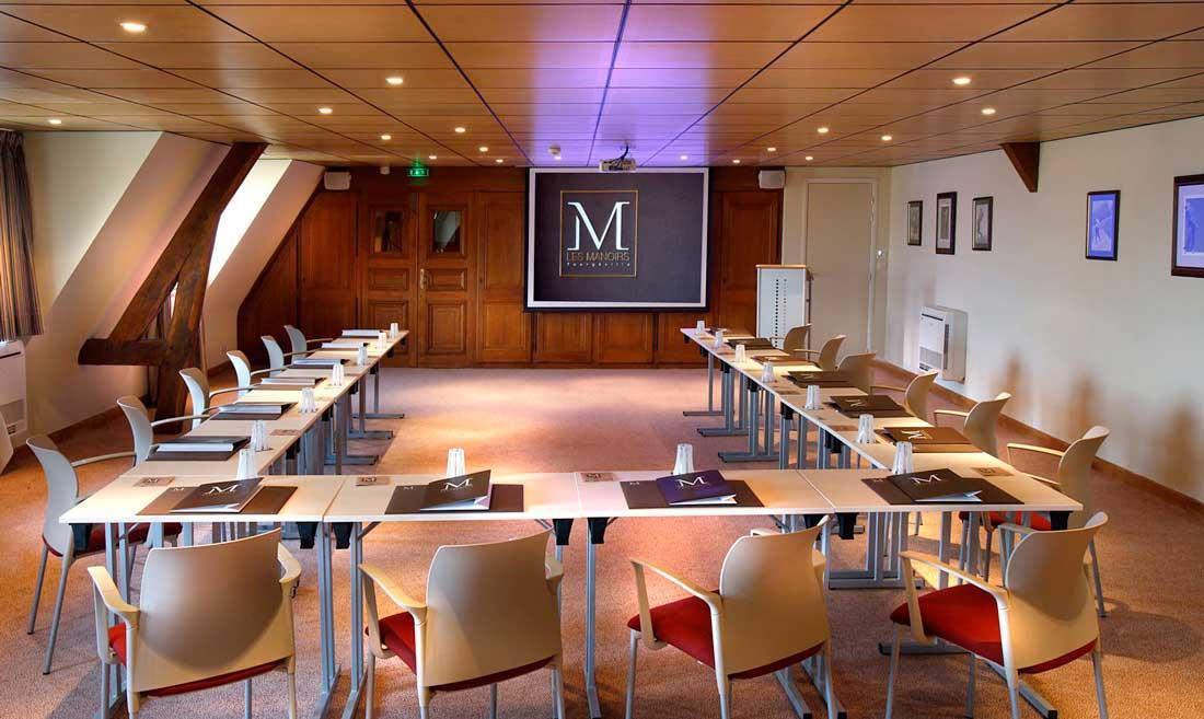 Salle de réunion des Manoirs de Tourgéville