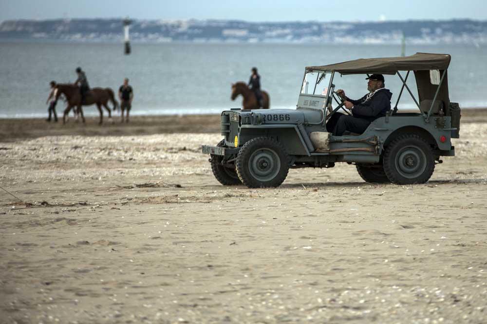 Visite des Plages du Débarquement en Jeep