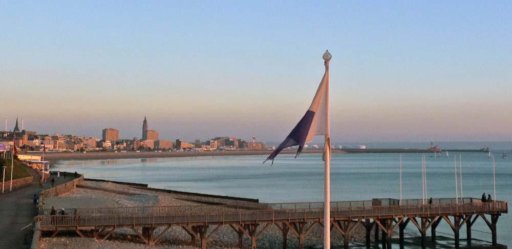 Le Havre vu de la mer | © RECEVOIR en NORMANDIE