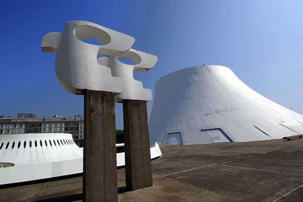 Le Volcan Oscar Niemeyer - scène nationale Le Havre
