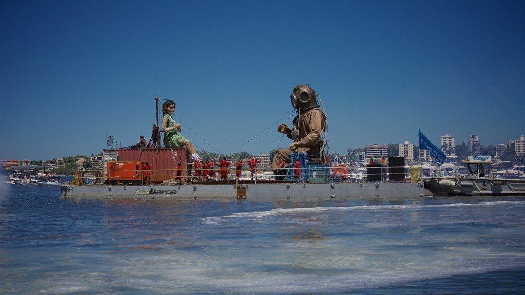 Royal de Luxe pour les 500 ans du Havre