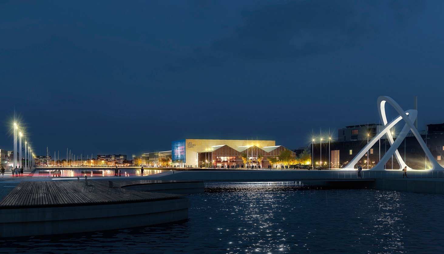 Le Carré des Docks pour vos séminaires, vos réunions au Havre