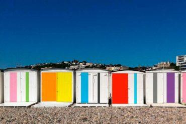 Pour les 500 ans du Havre, Karel Martens a pensé une création sur mesure pour l'ensemble des 713 cabanes.