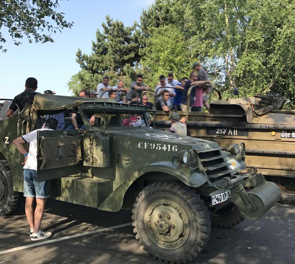 Visite des Plages du Débarquement en véhicules militaires