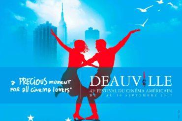 Affiche du 43e Festival du Cinéma Américain de Deauville