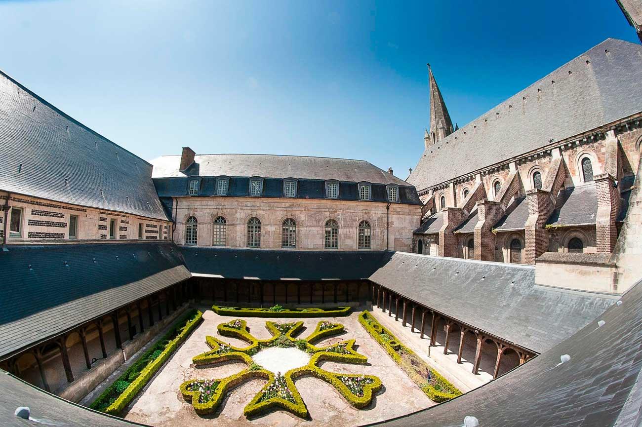 Abbaye de Montivilliers pour événementiels en Normandie