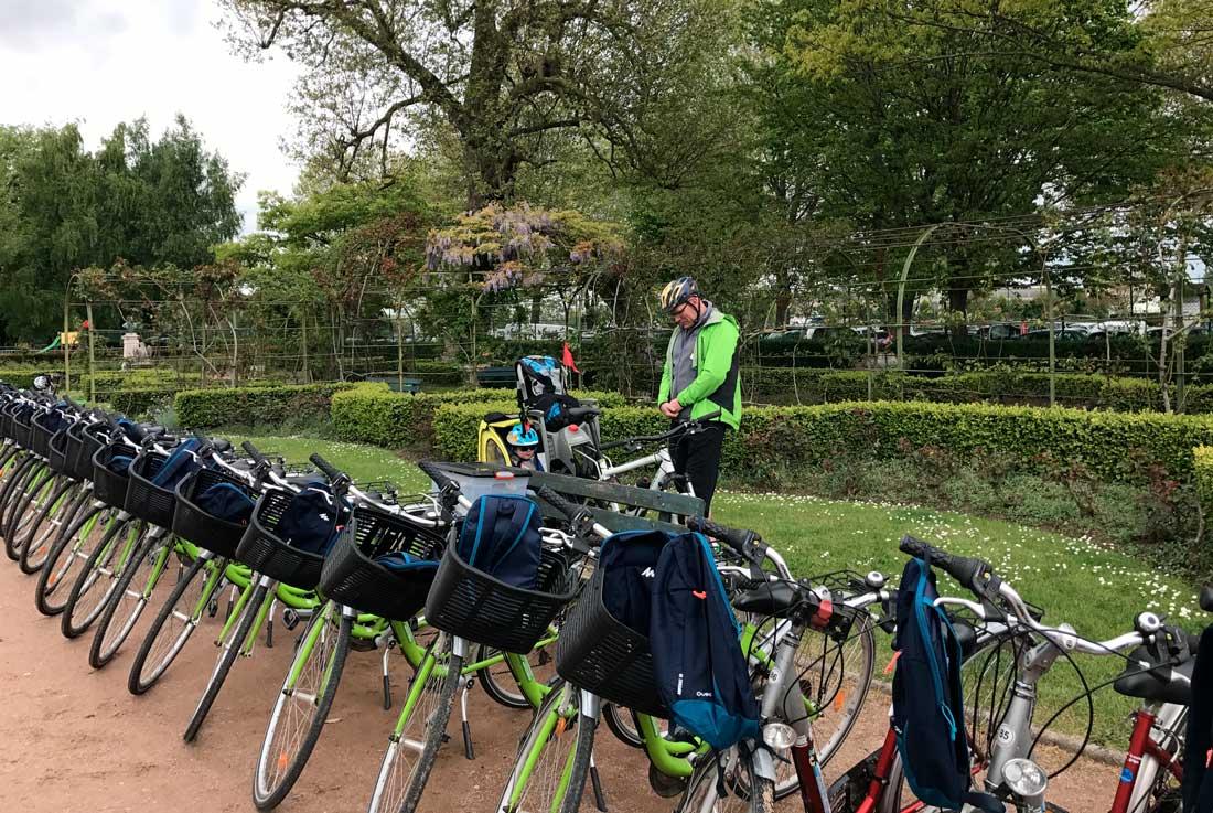 Balade à vélo à Honfleur