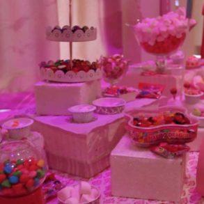 Candy bar pour votre soirée de séminaire