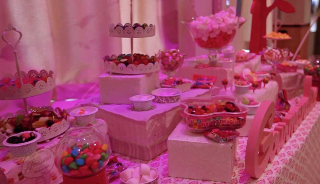 Candy bar pour votre soirée de gala