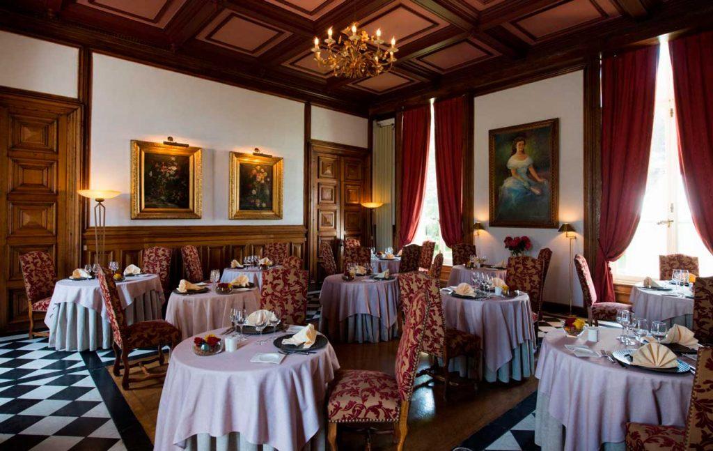 Château de Sissi - restaurant gastronomique Les 3 roses