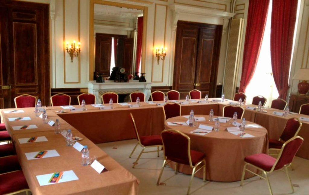 Salle de réunion au Château de Sissi