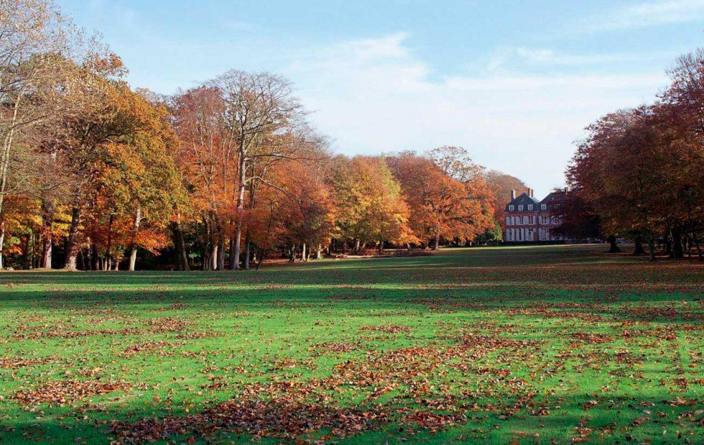 Le parc du Château de Sissi