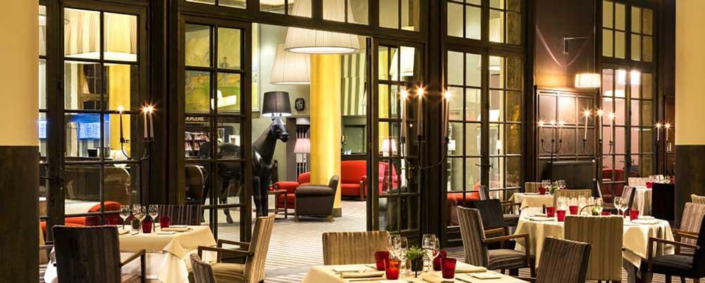 Le Restaurant Hôtel du Golf Barrière, le Lassay à Deauville
