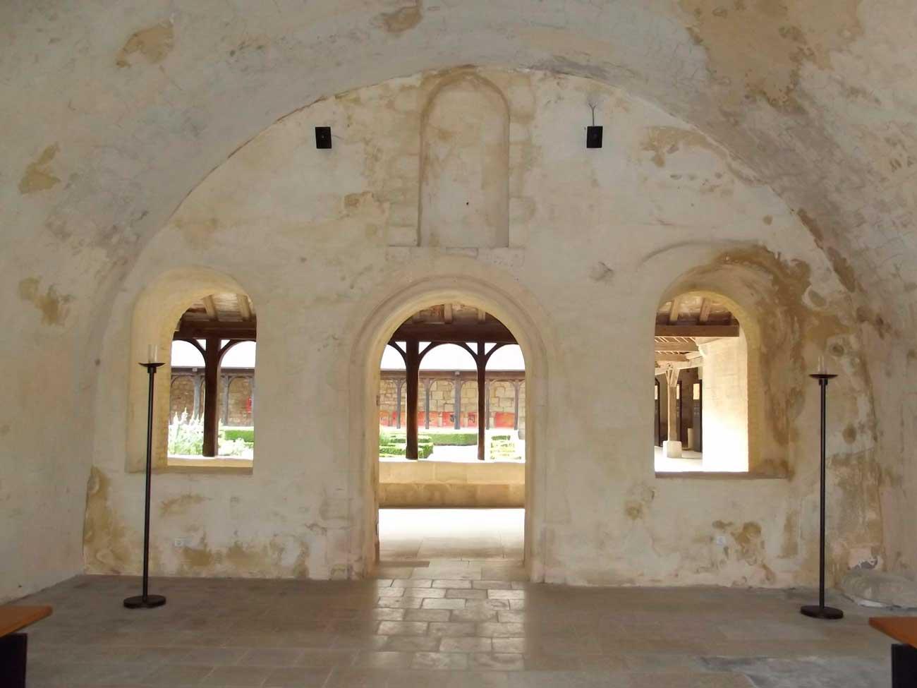 Abbaye de Montivilliers salle du chapitre