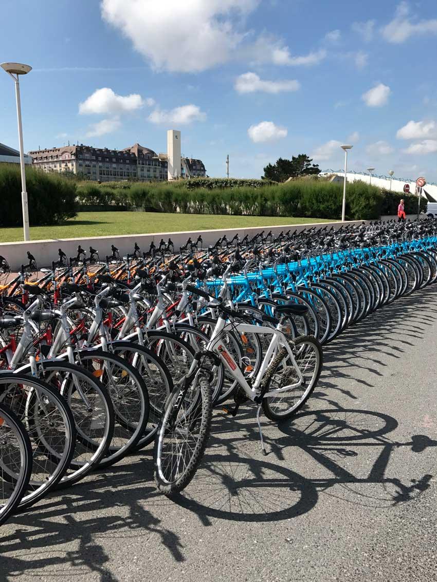 Balade à vélo avec déjeuner pique nique près de Deauville