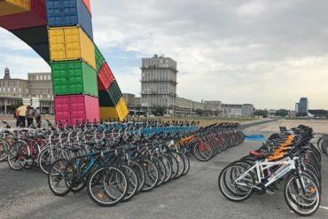 Le Havre pour un transfert sportif en vélo