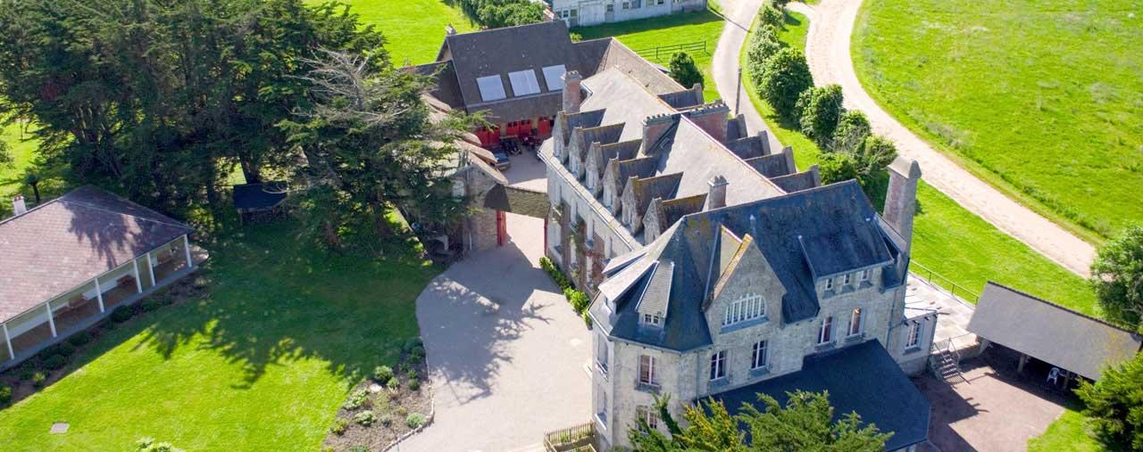 Château de Surville près de Cherbourg