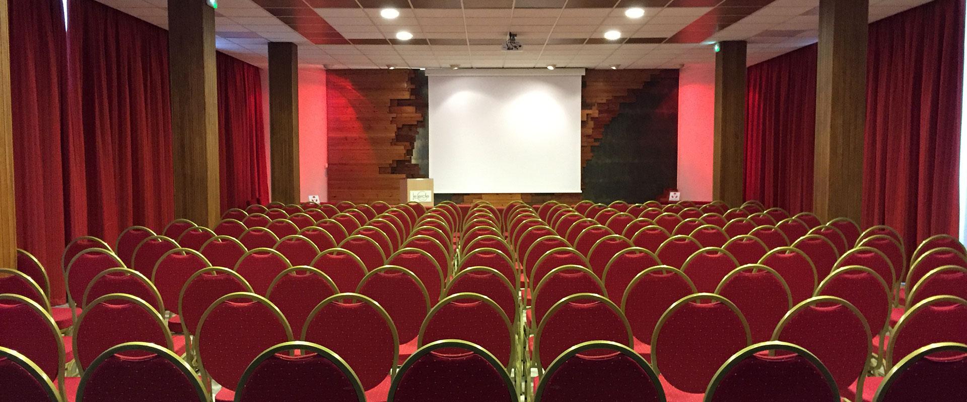 Salle de réunion de l'hôtel Le Cercle à Cherbourg