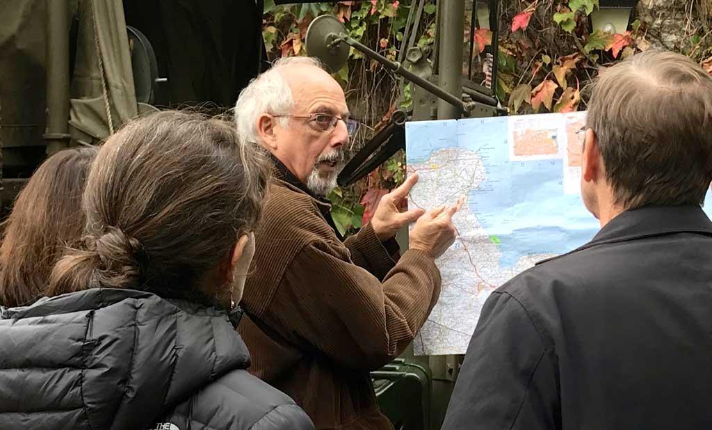 Visite privée pour un CoDir des Plages du Débarquement avec historien