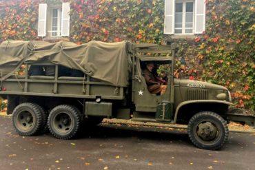 Visite des Plages du Débarquement en véhicule militaire