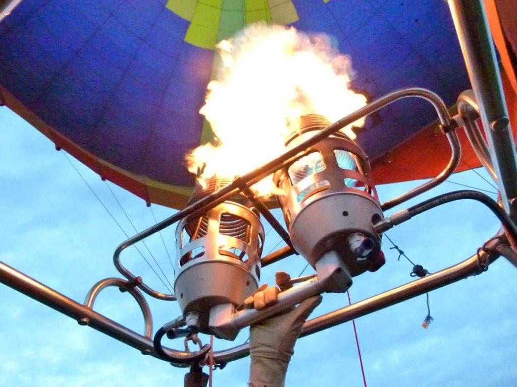 Prenez de la hauteur en montgolfière et regardez la Normandie vue du ciel