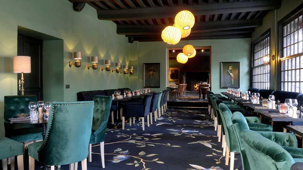 Tourbillon restaurant à Honfleur