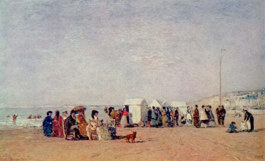 La plage de Trouville (1868)