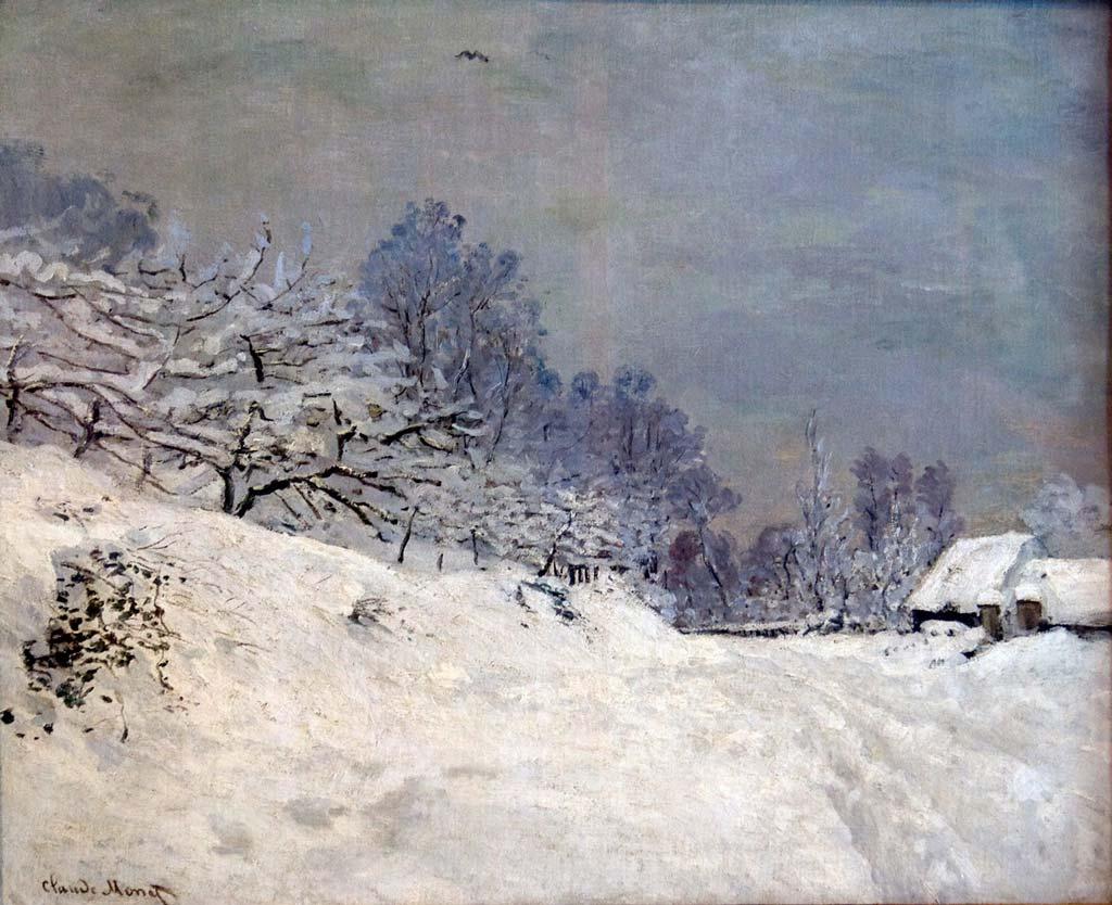 Claude Monet, La Route devant la ferme Saint-Siméon, 1867