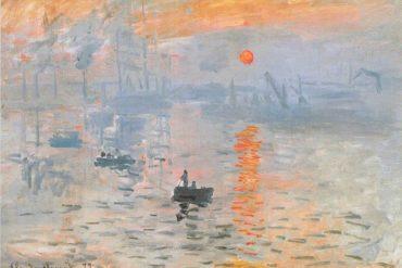 Impression Soleil levant de Monet