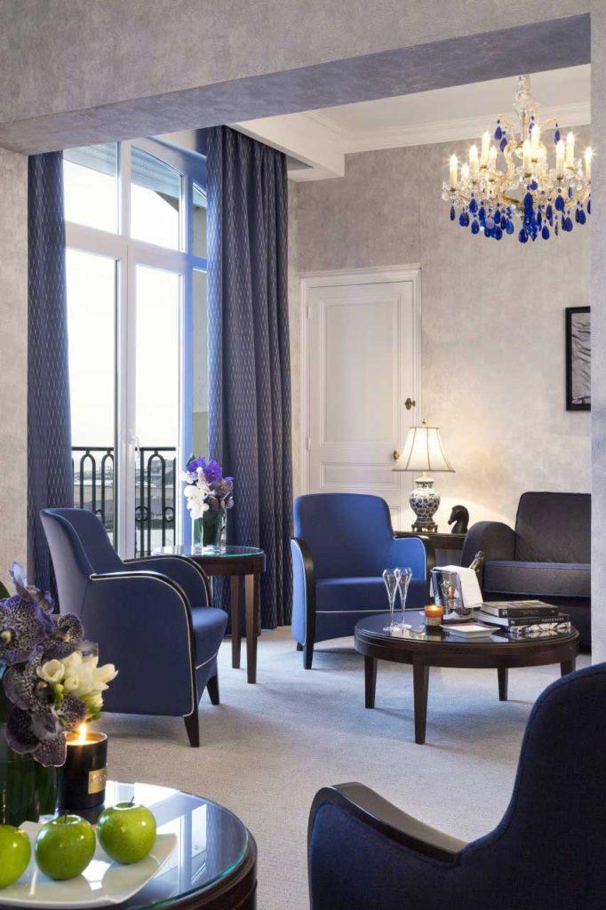 Chambre Deluxe- Hôtel Royal Barrière de Deauville