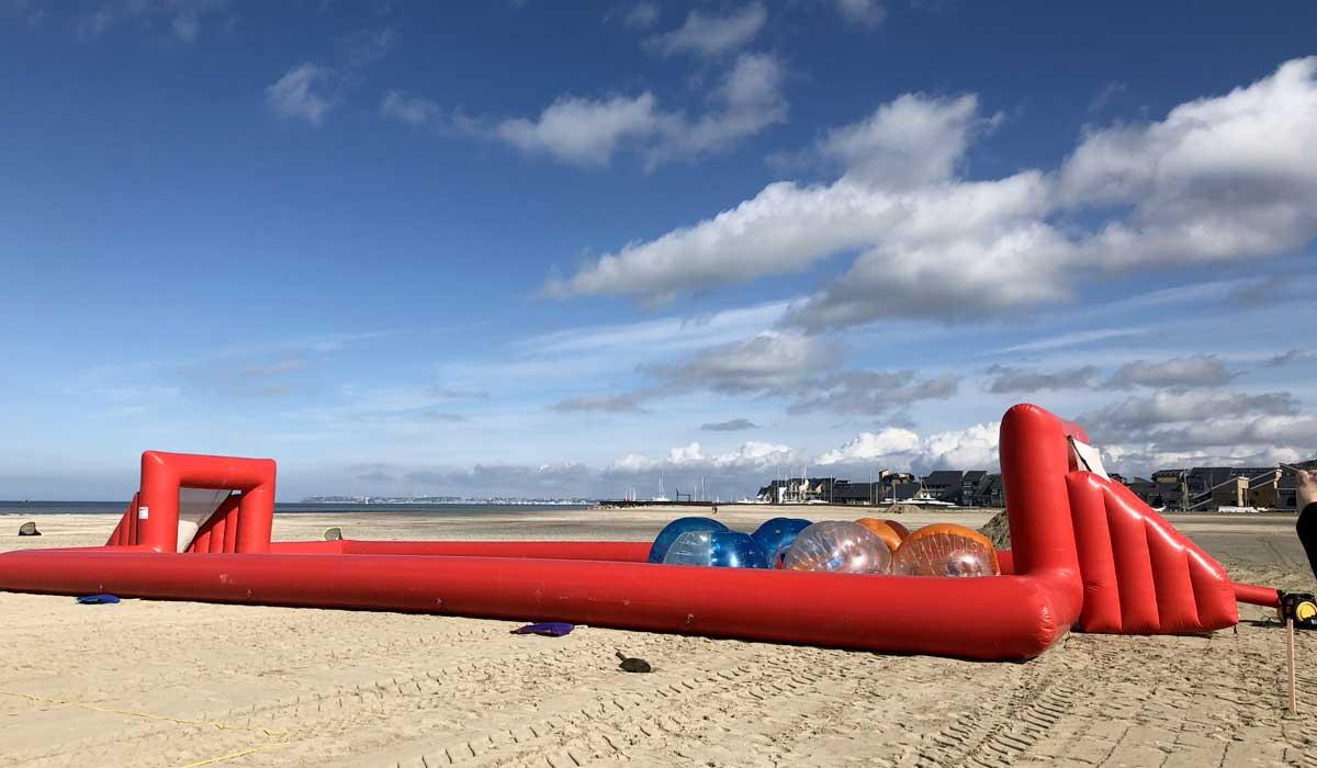 Deauville, olympiades pour team building en bord de mer