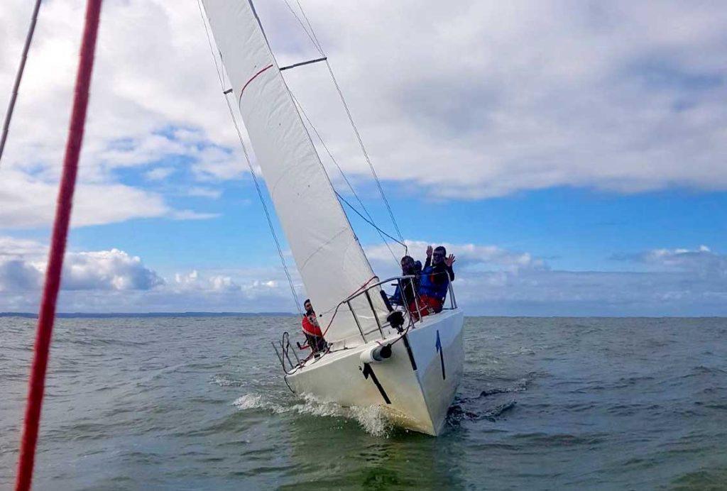 Régate une activité pour séminaire en bord de mer